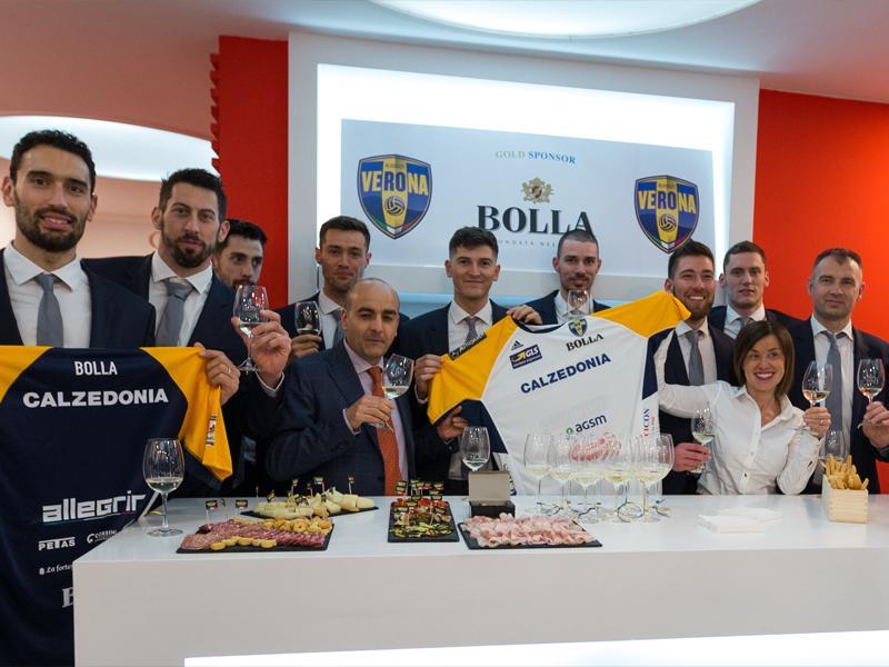 Cantina Bolla e Bluevolley Verona: al via la nuova stagione A1...Nuovo stile, stessa passione condivisa